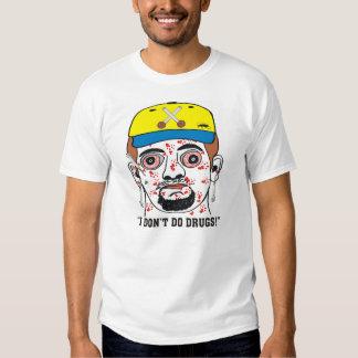 """Divertido """"no hago las drogas!"""" Camiseta masculina Playeras"""