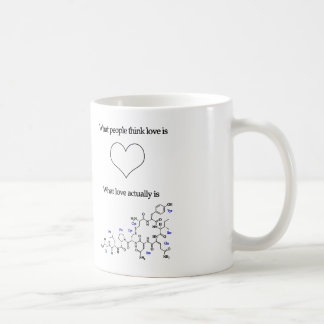 Divertido qué amor parece realmente la taza