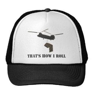 Divertido que es cómo ruedo gorra