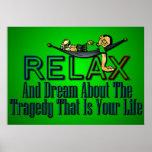 Divertido: Relájese y soñe Poster