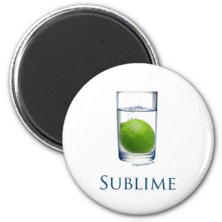 Divertido sublime imán redondo 5 cm