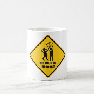 Divertido supervisado taza