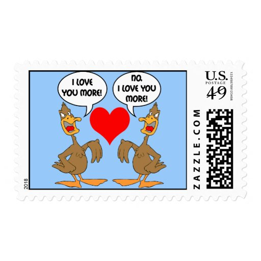 divertido te amo sellos
