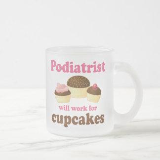 Divertido trabajará para el Podiatrist de las magd Tazas De Café