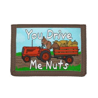Divertido usted me conduce retruécano Nuts de la a