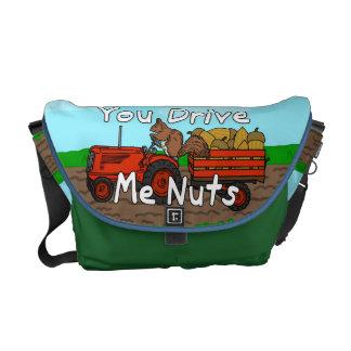 Divertido usted me conduce retruécano Nuts de la Bolsas De Mensajería