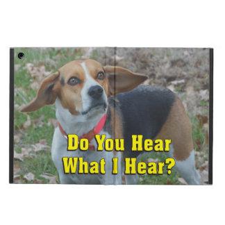 ¿Divertido usted oye lo que oigo? Beagle