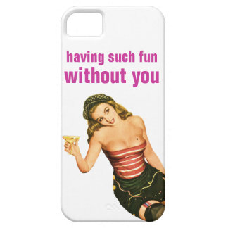 Divertirse tal sin usted iPhone 5 Case-Mate fundas