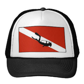 Diverwown with Diver Trucker Hat
