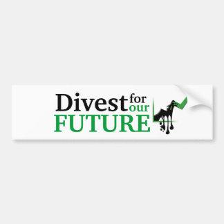 Divest Bumper Sticker