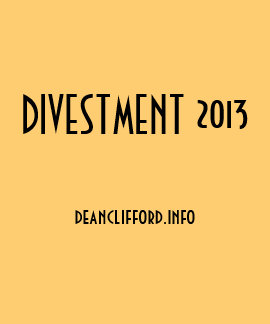 Divestment 2013 tshirt