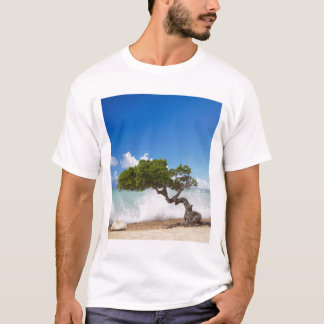 Divi Divi Tree, Eagle Beach, Aruba, Caribbean T-Shirt