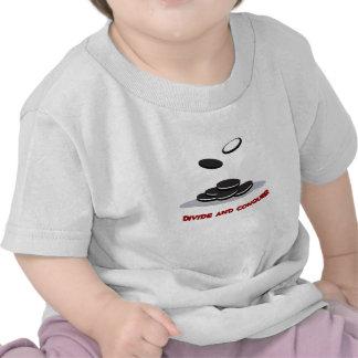 Divida y conquiste la camiseta de los niños