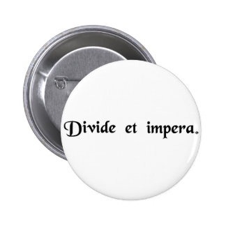 Divide and conquer button