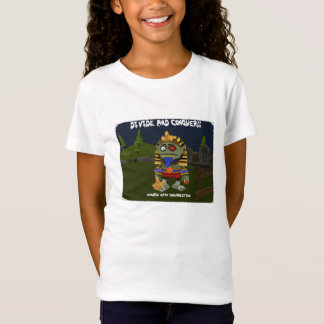 Divide and Conquer - Girls T-Shirt