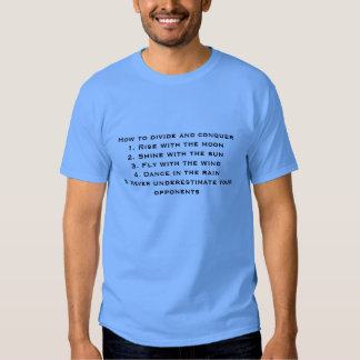 Divide and Conquer T-shirt