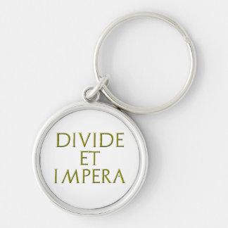 Divide Et Impera Keychain