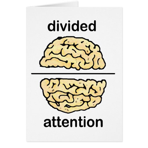 Divided Attention Card