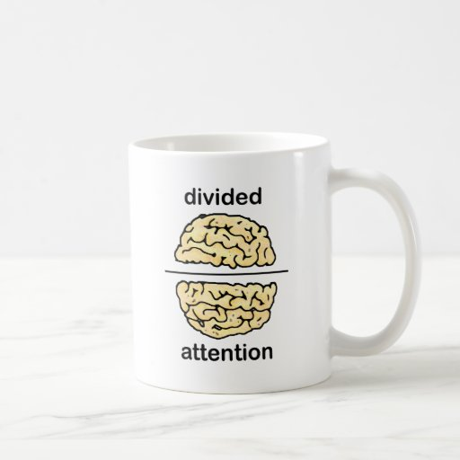 Divided Attention Coffee Mug