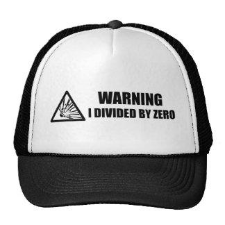 Divided by Zero Trucker Hat