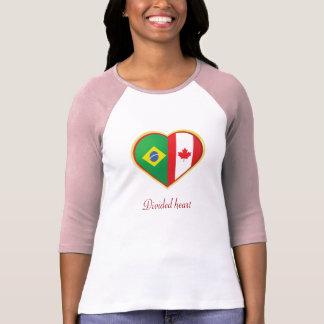 Divided heart T-Shirt
