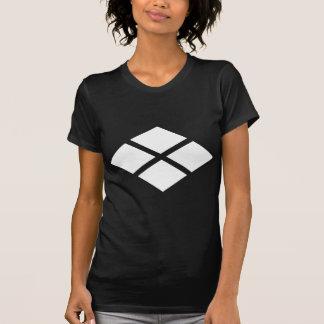 Divided rhombus t shirt