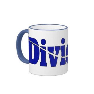 Divided Ringer Coffee Mug