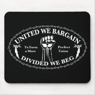 Divided We Beg Mouse Pad