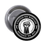 Divided We Beg Pinback Button