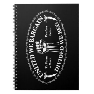 Divided We Beg Spiral Note Books