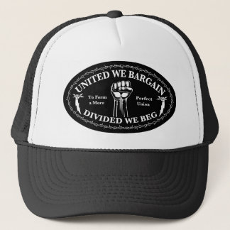 Divided We Beg Trucker Hat