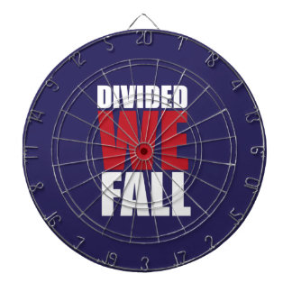 Divided We Fall Patriotism Quotes Dartboard