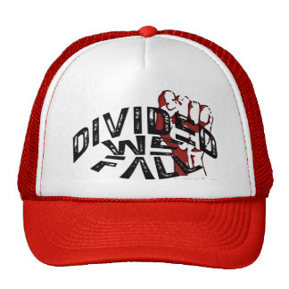 DIVIDED WE FALL Trucker Hat