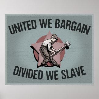 Divided We Slave Poster