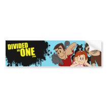DIVIDEDasONE Bumper Sticker