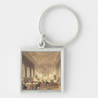 Dividend Hall at South Sea House Key Chains