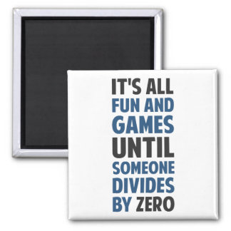 Dividing By Zero Is Not A Game Magnet