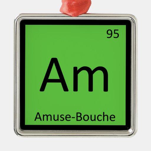 - Divierta-Bouche la tabla periódica de la química Ornato