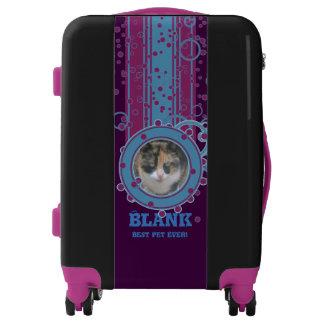 Diviértase a su mascota, continúe la maleta del
