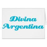 Divina Argentina Card