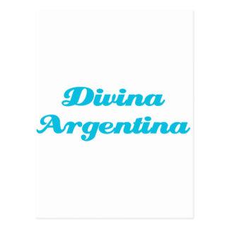 Divina Argentina Postcard