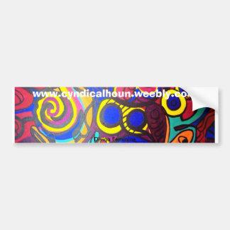Divina Feminine Car Bumper Sticker