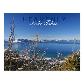 Divinamente en el lago Tahoe Tarjeta Postal