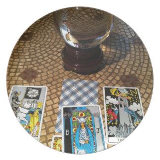 Divination Party Plates