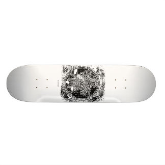 divinci skeleton skateboard