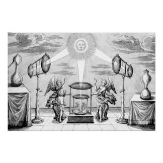 Divine Angels of Alchemy Poster