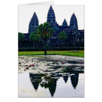 Divine Angkor Wat   Travel 2009 Card