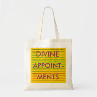 DIVINE APPOINTMENTS TOTE BAG