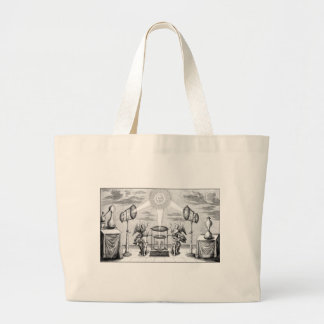 Divine Arcana of Alchemy Large Tote Bag