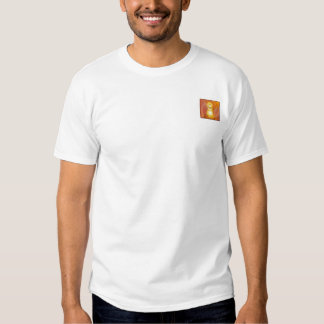 Divine Child Dazzling Love Fiery Angel's Wings Tee Shirts
